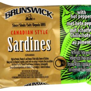 Brunswick Sardines In Hot Pepper Sauce 106g