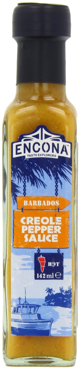 Encona Barbados Creole Pepper Sauce 142ml HOT