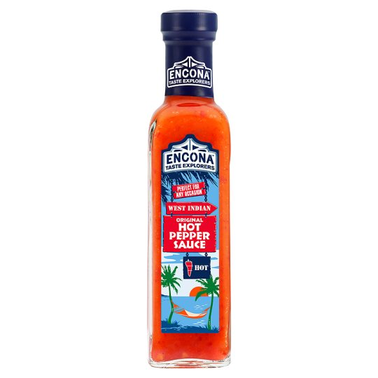 Encona Original Hot Pepper Sauce 220 ml