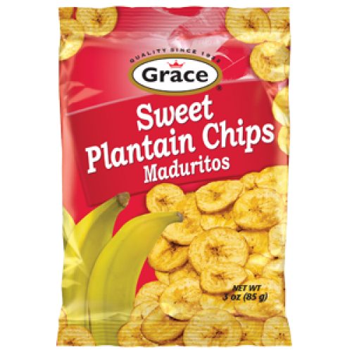 Grace Sweet Plantain Chips 85g