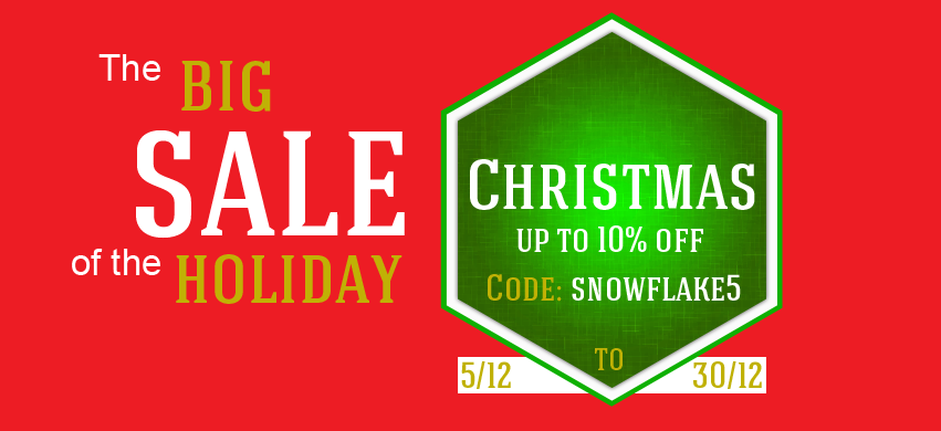 christmas sale coupons 10% off at the checkout