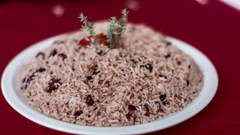 JаmRосk Catering Sеrviсе rice and peas